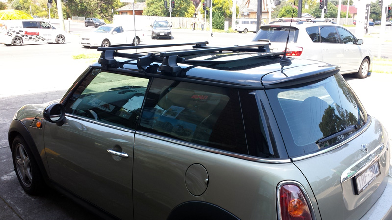 yakima mini cooper roof rack